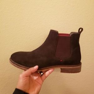 modern fiction Shoes - Mens suede brown boots size 8